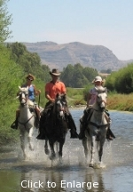 Riding in the Rio Grande